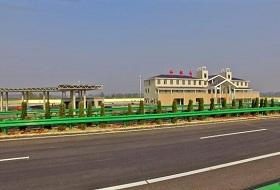 武汉城市圈环线高速公路波形護欄工程案例