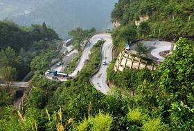 湖南岳阳平江县城通段G209国道护栏工程案例